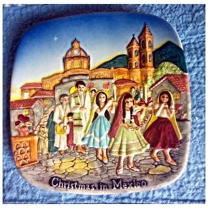 Christmas In Mexico Royal Doulton 1973 Plate